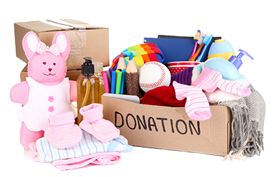 Donate Basic Care and Household Items